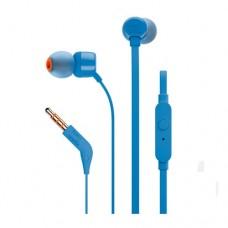 Наушники вставные с микрофоном JBL JBLT110BLU