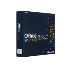 Office Mac Home Business 1PK 2011 Russian Kazakhstan Only EM DVD No Skype