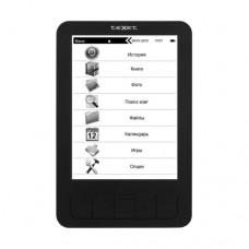 """Электронная книга TeXet TB-156, 4GB, 6.0"""", 800x600, microSD, microUSB, Black (TB-156)"""