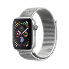 Apple Watch Series 4 GPS 44mm Silver Aluminium Case with Seashell Sport Loop Model A1978 MU6C2GK/A