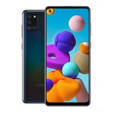 "Смартфон Samsung Galaxy A21S 32GB 6,5""1600х720,3GbRAM,13Mp.2xSIM.LTE.Black SM-A217FZKNSKZ"