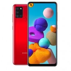 """Смартфон Samsung Galaxy A21S 32GB 6,5""""1600х720,3GbRAM,13Mp.2xSIM.LTE.Red SM-A217FZRNSKZ"""