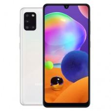 "Смартфон Samsung Galaxy A31 64GB 6.4"" 2400x1080, 4GbRAM, 48Mp, 2xSIM, LTE, White SM-A315FZBUSKZ"