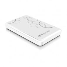 "Жесткий диск внешний 2.5"" Transcend ""StoreJet 25A3W"" 1TB USB3.0 TS1TSJ25A3W White"