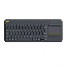Клавиатура беспроводная  K400 PLUS USB RU Dark L920-007147
