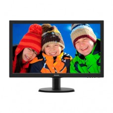 "Монитор 23.8"" Philips 240V5QDAB/01 Black, 1920x1080, TFT IPS, 5ms, 250кд/м2, D-Sub, DVI, HDMI"