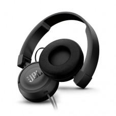 Наушники беспроводные накладные с микрофоном JBL T450, Cable 1.2m, Black, JBLT450BLK