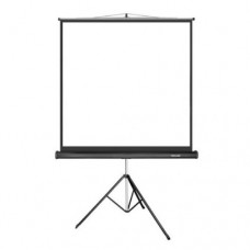Экран проекционный, Deluxe DLS-T153x, на штативе,Matt White,153x153, Черный