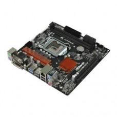 Материнская плата AsRock H110M-HDV, r3.0 LGA1151 INTEL H110 2DDR4 4SATA3 1xD-Sub 1xDVI-D 1xHDMI mATX