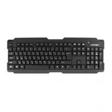 Клавиатура Crown CMK-6004, Черная,USB (беспроводная)