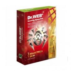 Антивирус Dr.Web Security Space GOLD1 ПК/3 года (+3 месяца в подарок)