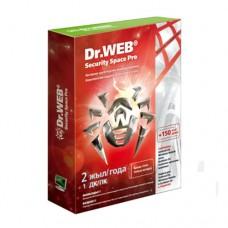 Антивирус Dr.Web Security Space SILVER 1 ПК/2 года (+2 месяца в подарок)