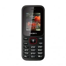 Мобильный телефон Texet TM-128, черно-красный