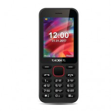 Мобильный телефон Texet TM-215, черный
