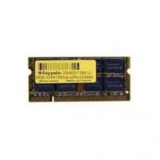 Оперативная память для ноутбука Zeppelin SODIMM 1333/1GB XTRA Lifetime warranty