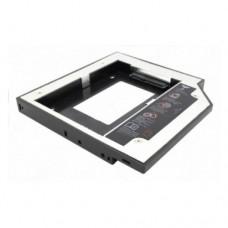 """Корпус для жесткого диска Espada IS12, 2.5"""" HDD в IDE отсек оптического привода ноутбука"""
