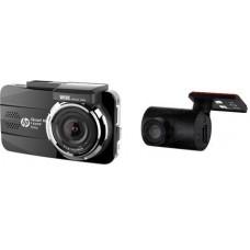 Видеорегистратор HP F890G, HDR, 2560х1440, Угол обзора 155°, Режим парковки, Черный