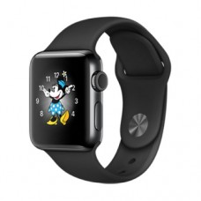 Apple Watch Series 2 38mm Space Blac Stainless Case with Space Black Spor Band Model A1757 MP492GK/A