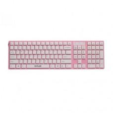 Клавиатура Delux DLK-1000UP, USB, Розовая (проводная)