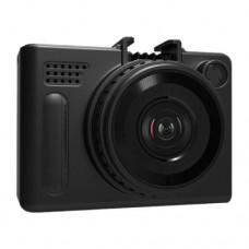 Видеорегистратор Texet DR-443, 1920x1080, Угол обзора 120°, MicroSD, Черный
