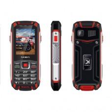 Мобильный телефон Texet TM-515R черный/красный