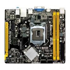 Материнская плата Biostar H81MLV3, S1150, H81, 2xDDR3, PCI-Ex16, PCI-Ex1 2.0, 4xSATA2, 2xUSB3.0, 6xU