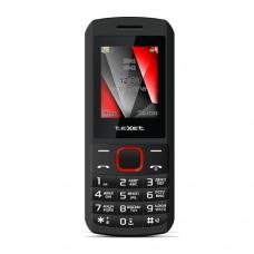 """Мобильный телефон Texet TM-127, 1.77"""", 128х160, черно-красный"""