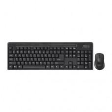 Комплект Defender Princeton C-935 Nano Black (клавиатура+мышь) (беспроводной)