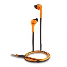 Наушники CANYON пластиковый корпус встроенный микрофон плоский кабель 12 мм драйвер 93dB±3dCNS-CEP1O