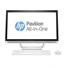 "Моноблок HP Europe Pavilion, Core i5-7400T-2.4/2TB/DDR4 8GB/RadeonR530-2GB/DVD-RW/27"" FHD/Win 10 Hom"