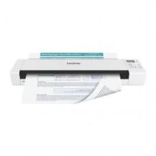 Сканер Brother DS-820W, (A4) 600x600 dpi, USB 2.0, Wi-Fi, 7,5 стр./мин, Сканирование на SD карту