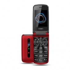 """Мобильный телефон Texet TM-414, 2.8"""", 240х320, красный"""