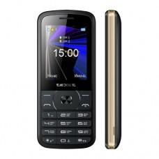 """Мобильный телефон Texet TM-D229, 2.4"""", 320х240, черный"""