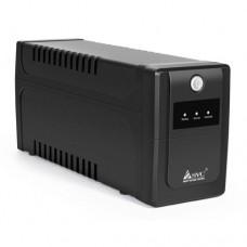UPS SVC V-800-L ,защита тел.линии,AVR,,fn/^12D/9 Ач*1шт., 3вых.:2 Shuko  CEE7+1 IEC C13, Черный