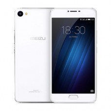 "Смартфон Meizu U10, 16GB, 5"", 1280x720, 2GB RAM, 13Mp, 2xSIM, LTE, White"