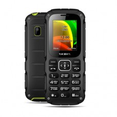 """Мобильный телефон Texet TM-504R, 1,77"""", 128х160, 0,08Мр, 2xSIM, черно-зеленый"""