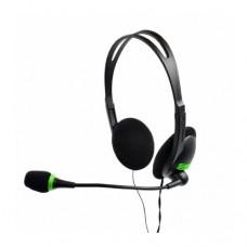 Наушники накладные с микрофоном mediacom 440, черный