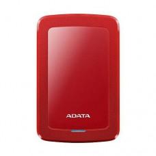 """Жесткий диск внешний A-DATA 2.5"""" 1TB AHV300-1  USB3.0 AHV300-1TU31-СRD Red"""