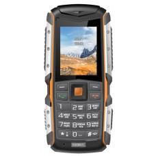 "Телефон Texet TM-513R, 2"", 220x176, 2Mp, 2xSIM, Black/Orange"
