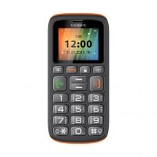 """Телефон Texet TM-B115, 1.77"""", 160x128, Черный/оранжевый"""